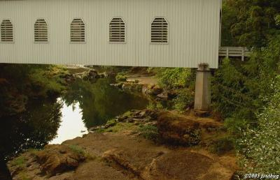 Dorena Covered Bridge