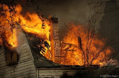 Practice House Burn