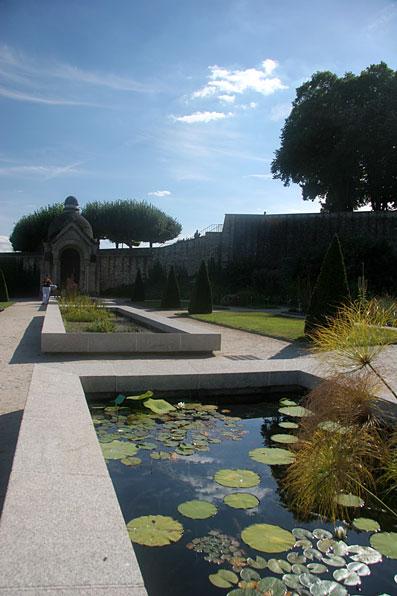 Jardin botanique à thèmes écologiques