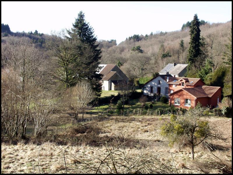 Maucloux, petit hameau prés de Jabreilles (en hiver)