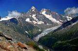 Glacier d'Argentière -Aiguilles du Chardonnet et d'Argentière