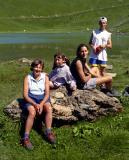 Pause au lac vert (col de Chésery, Suisse)