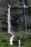 Water falls at Sixt (Haute Savoie - France)