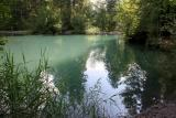 Small lake at Sixt (Haute Savoie - France)