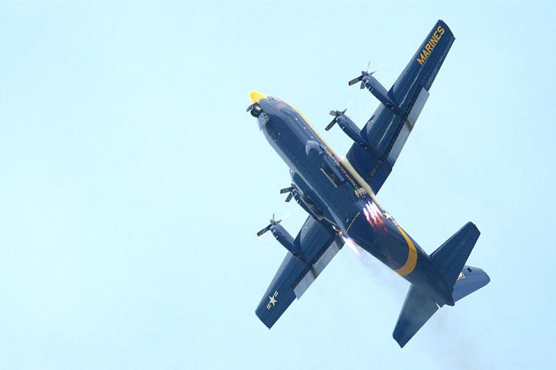 Blue Angels C130 JATO Takeoff