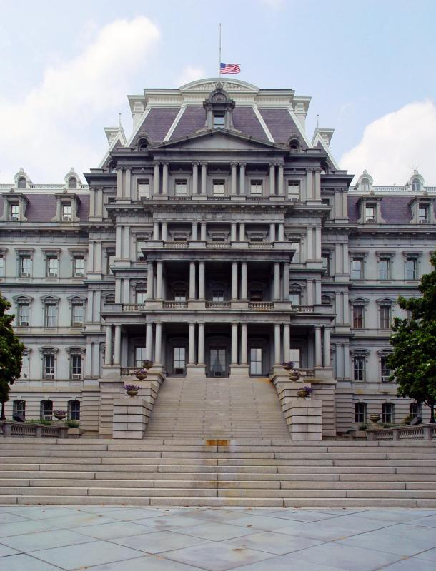 Old Executive Office Building, pano