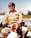 Dad and his sidekick