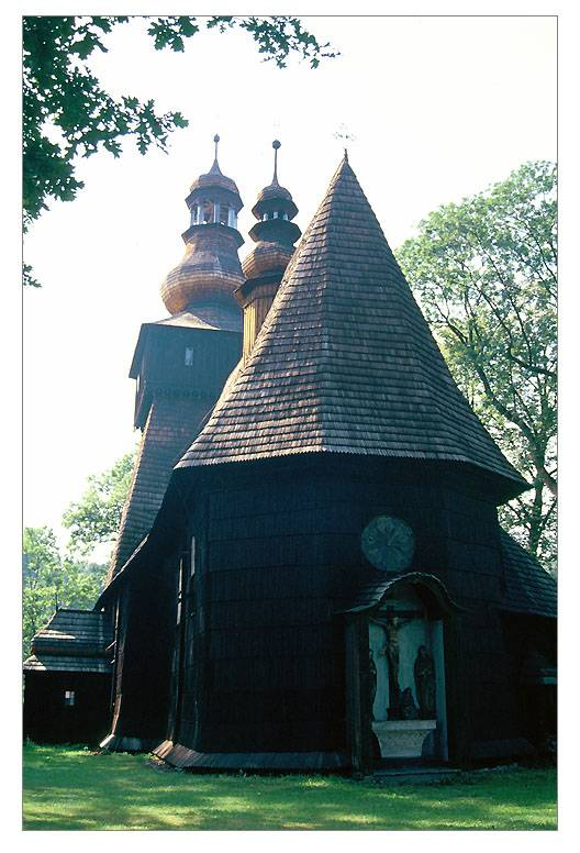 Wooden church,Rabka