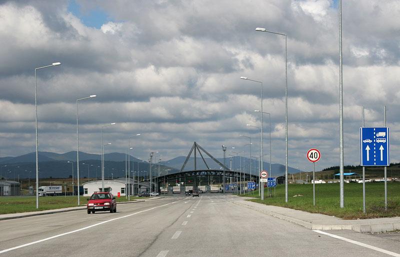 Border to Croatia