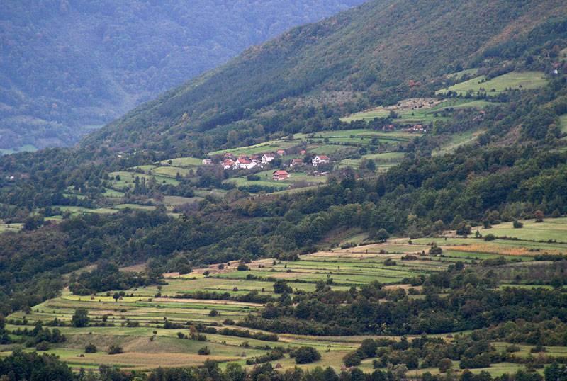 Bosnia,rural landscape