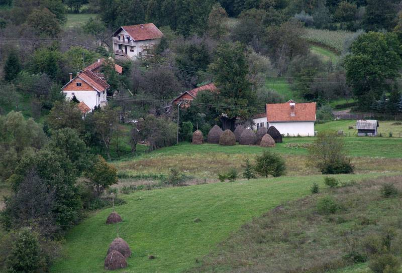 Bosnia,rural landscape