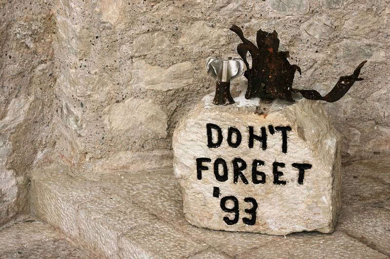 Mostar,don`t forget the war 1993