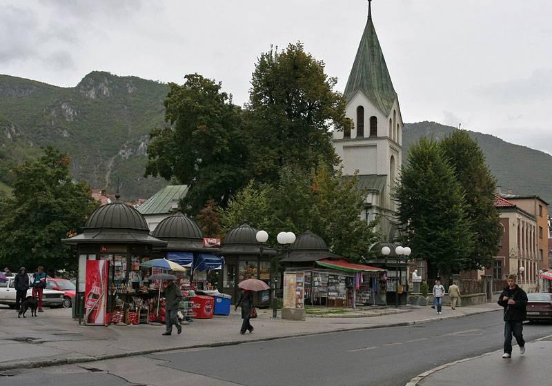 Travnik,katholic church