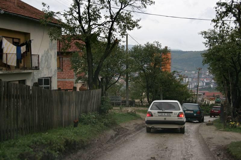 near Bihač,by-pass