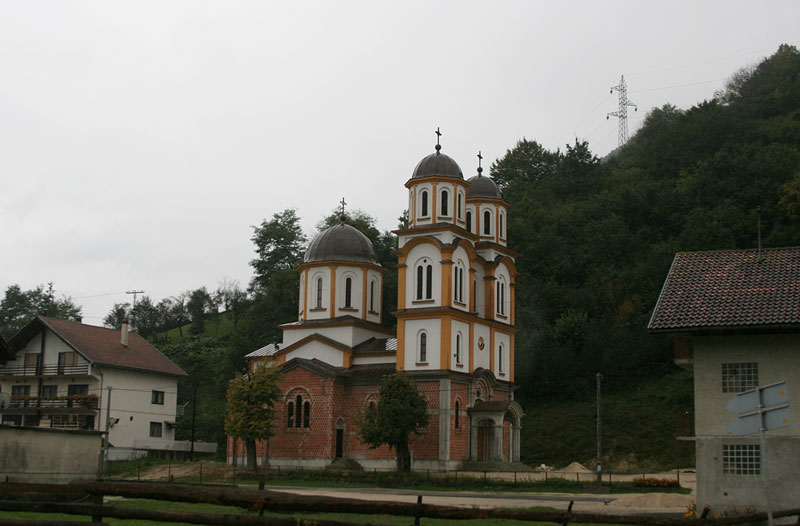 near Jajce,orthodox church
