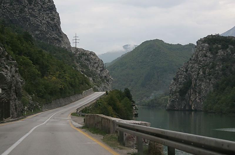 along River Neretva near Sarajevo,Bosnia