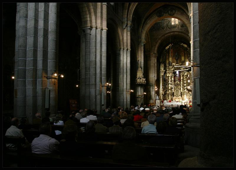 visiting Mass in Cuenca