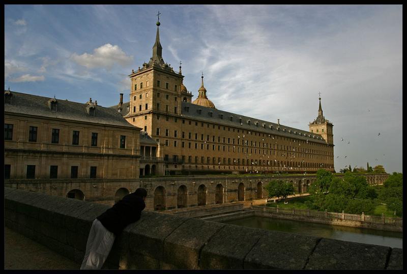 El Escorial,grand residence of kings near Madrid