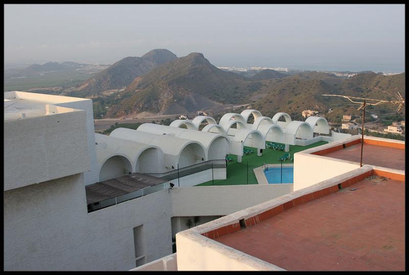 Mojacar,overnighting in Hotel Moresco