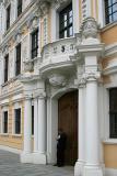 Portal am Mittelbau des Taschenbergpalais