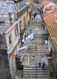 Perto da Muralha por cima da ponte - Escadas do Codeçal