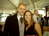 Michael and Karen at reception