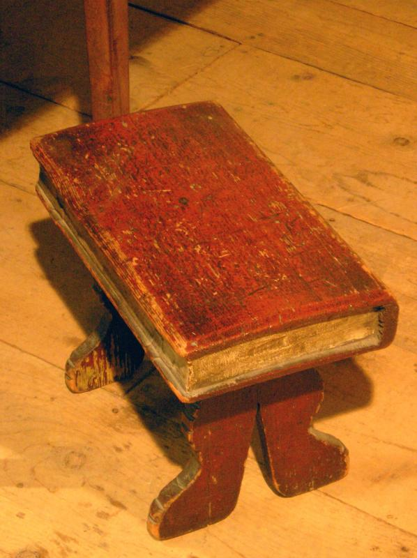 Old Book Stool