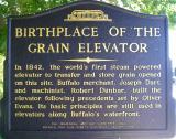 Grain Historical Marker