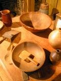 Old Wooden Bowls