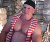 big hairy daddie bears pirate man costume