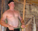 big hairy daddie bears pirate shirtless man