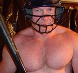 big irishman hairychest baseball player