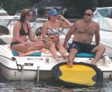 Lake Norman Boating Event Photos bald daddy bear