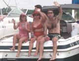 Lake Norman Boating Event Photos men waving
