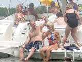Lake Norman Boating Event Photos drunk men
