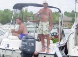 Lake Norman Boating Event Photos drunk man