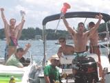 Lake Norman Boating Event Photos guys drunk