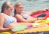 Lake Norman Boating Event Photos bikini clad women