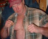 Irish Fist Fighting NHB Hairychest Muscleman Fighter at MuscleBear Boxing Ring Gym photos