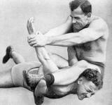 classic vintage pro wrestling locked armbar