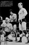 old wrestling photographs shoot fighting