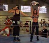 female bodybuilders wrestling champion