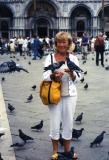St Marks Square. Gina.