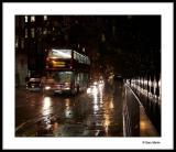Fulham Road at night