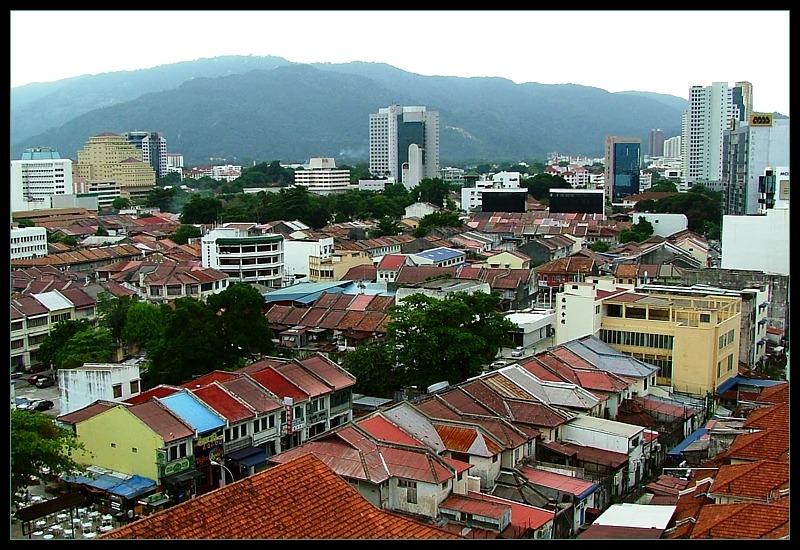 Georgetown & Penang hills