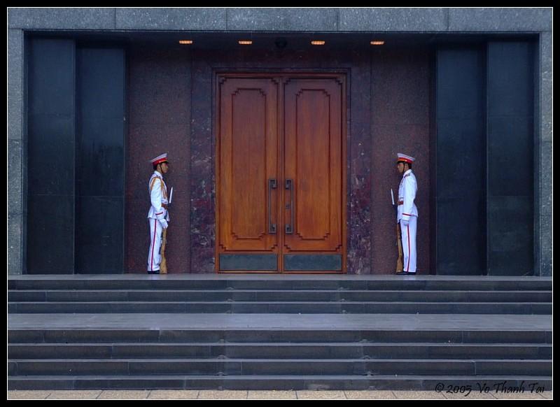 Mausoleum grand entrance