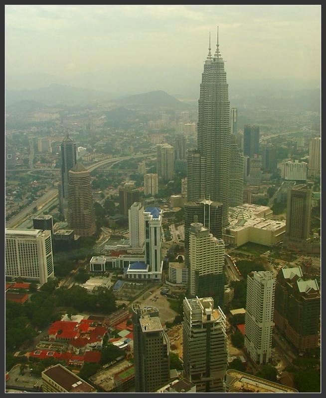View on Petronas Twin Towers