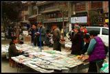 Shuyuanmen book stalls