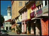 Colourful facades