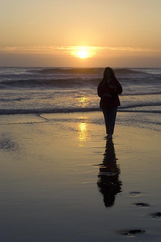 June 18, 2005<br>Sunset Girl